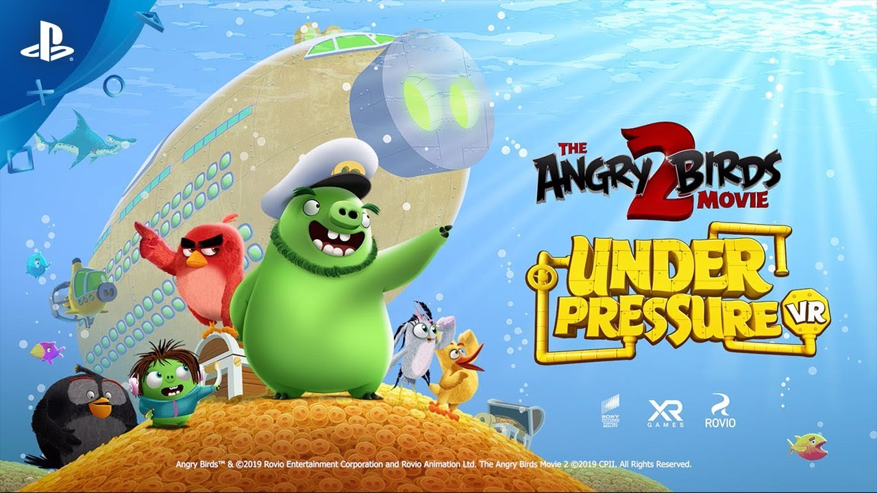 The Angry Birds Movie 2 VR: Under Pressure - Official Gameplay Trailer | PS VR