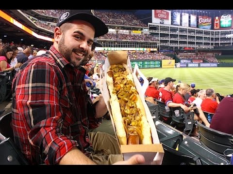 30 Most Ridiculous MLB BallPark Food Items