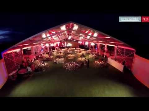 Fine Dining Wedding Setup - Outdoor Venue - Long Beach Resort, Mauritius