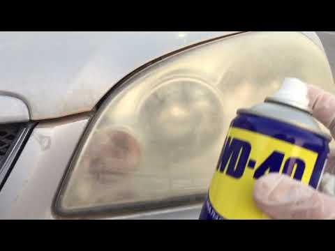تنظيف الانوار الامامية للسيارات