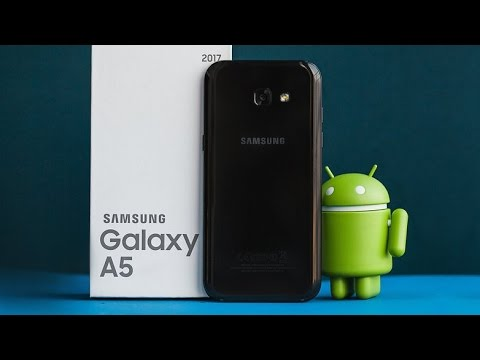 samsung galaxy a5 2017 ger ek kullan m pil testi youtube