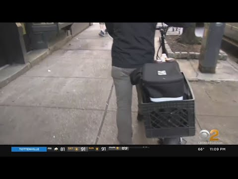 NYC Delivery Workers Ask For Help Amid Worries About Danger On The Job
