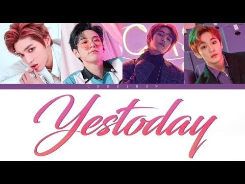 NCT U - YESTODAY (Color Coded Lyrics Han|Rom|Eng)