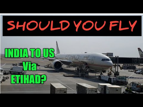 India To Chicago On Etihad Flight Review. What To Expect In Abu Dhabi.