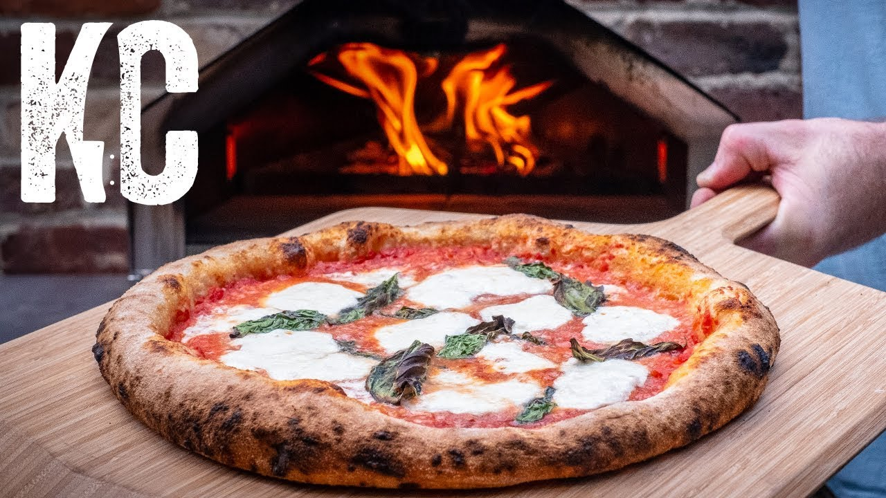 Neapolitan Style Pizza Using The Ooni Pro Pizza Oven From Scratch Recipe Youtube