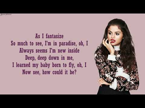 Selena Gomez - A Sweeter Place Ft. Kid Cudi   Lyrics