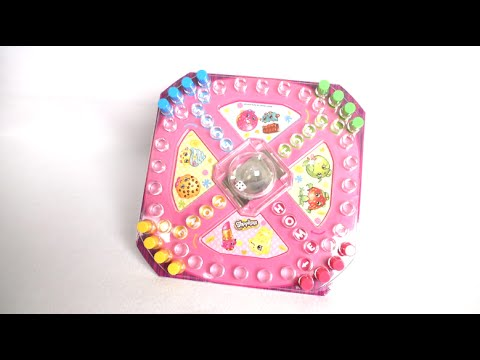 Shopkins Pop 'N' Race Game from Pressman Toy