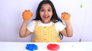 أسهل طريقة لصنع الصلصال في البيت !!  DIY Homemade Playdough  for kids