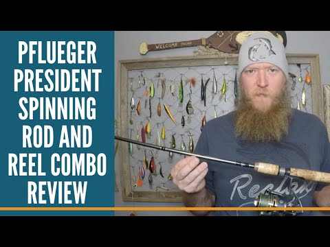 Pflueger President Spinning Rod And Reel Combo Review / Budget Friendly Fishing Gear