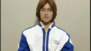Seigaku Interview - Kunimitsu Tezuka (Tagikawa Eiji)