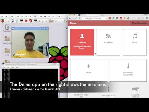 Jammin Sensor Face Analysis Demo
