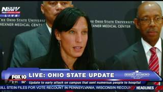 FULL: Ohio State Stabbing Rampage Attack Press Conference -FNN