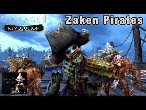 Lineage 2 Revolution - Piratas do Zaken (Quests Level 147) SpellSinger Gameplay (PT-BR)