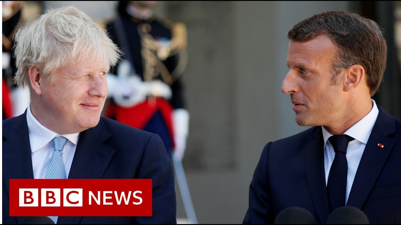 BBC News:Backstop indispensable, Macron tells Johnson - BBC News
