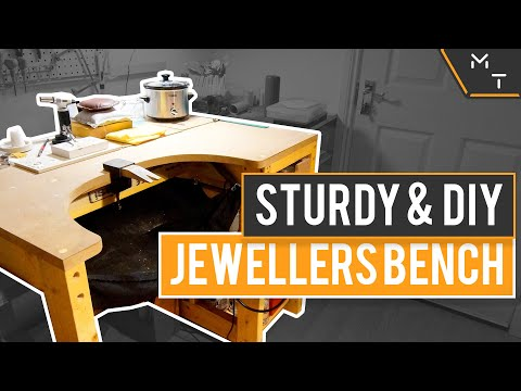 How To Build A Jewellers Bench / DIY Jewellery Workbench