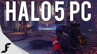 HALO 5 ON PC - Multiplayer Gameplay + Impressions