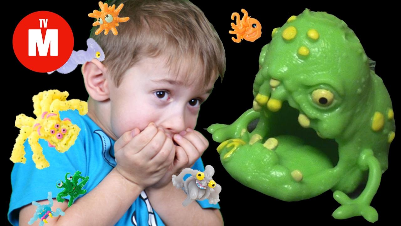 микробы картинки для детей