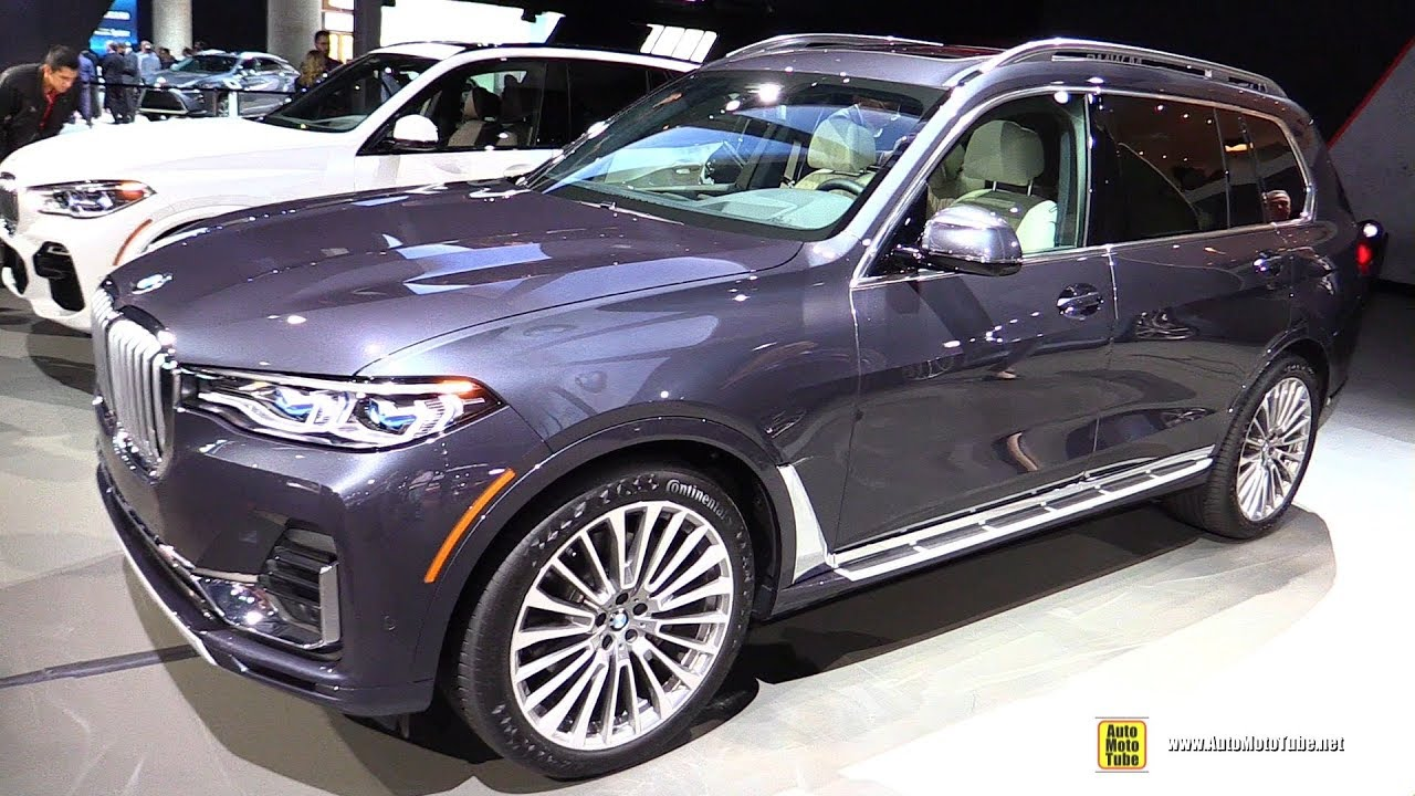 2019 Bmw X7 50i Xdrive Exterior And Interior Walkaround Debut At 2018 La Auto Show