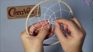 Comment tisser un attrape-rêves - Kit Creavea