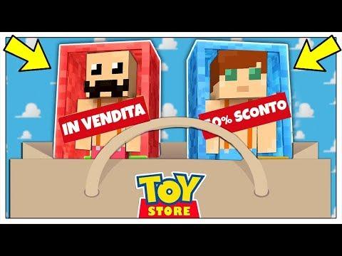SIAMO DIVENTATI GIOCATTOLI! - Minecraft ITA