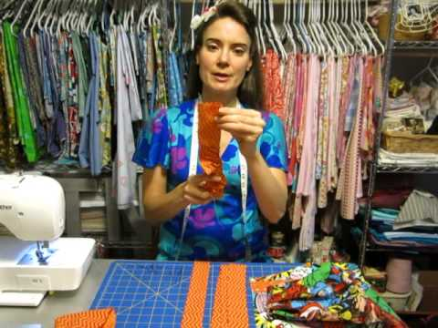 Apron Sew-Along: Creating the Neck Strap and Ties