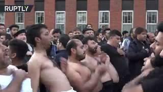 المسلمون الشيعة في مانشستر يحيون شعائر عاشوراء