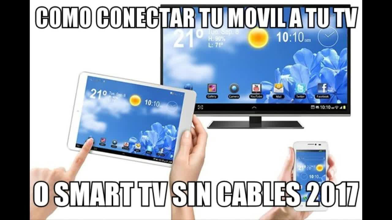 Pasos para conectar smartphone o tablet a Smart TV LG