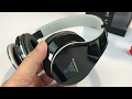 JS-BASE Wireless Bluetooth Stereo Headset Headphones review