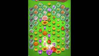 Blossom Blast Saga Level 120 New (68 Blooms) No Boosters
