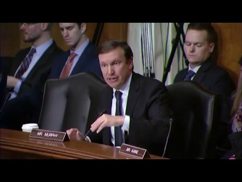In Senate Foreign Relations Hearing, Senator Murphy Asks Secretary Kerry about Policy in Yemen