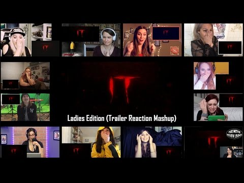 Ladies Edition: IT - Official Teaser Trailer (Reaction Mashup)