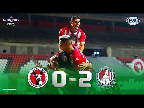 Tijuana - Atlético San Luis [0-2]   GOLES   Jornada 4   Liga MX Guard1anes 2020
