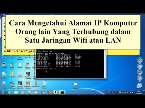 Cara Mengetahui IP Address Alamat IP Pada Komputer.