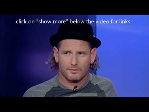 Corey Taylor interviewed w/ Fox Business - Marty Friedman live video released!