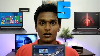 Top 5 Best Gaming Laptops Under Rs.60,000 ! (2016)