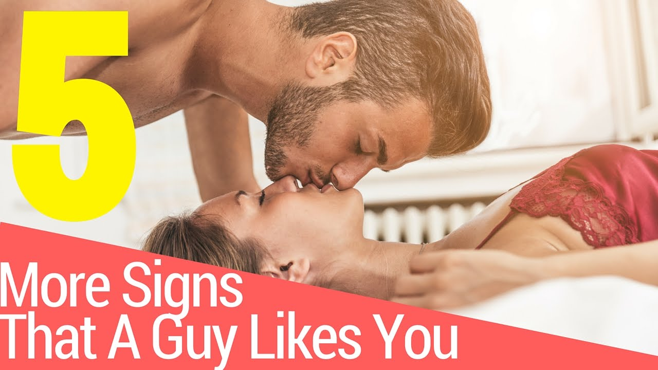 Signs a guy wants more than a hookup