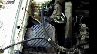 Замена топливного фильтра Passat B3. Нюансы.