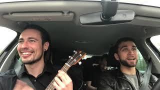 Zusammen im Auto