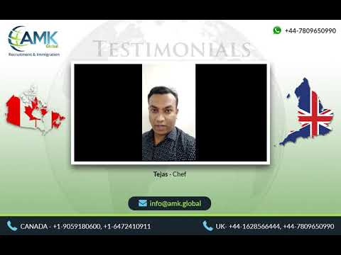 Chef - Tejas - AMK Global - We specialize in recruitment and immigration services worldwide.