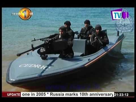 News 1st : SL Navy renames Arrow Boats in honour of late Commander Cedric Martenstyn