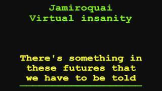 Jamiroquai Virtual insanity LYRICS