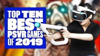 Top Ten Best PSVR Games Of 2019 - Ian's VR Corner