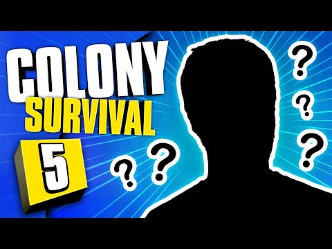 A NEW PLAYER! | Colony Survival #5