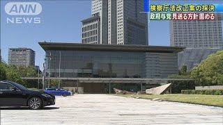 検察庁法改正案の採決 政府与党は見送る方針固める(20/05/18)
