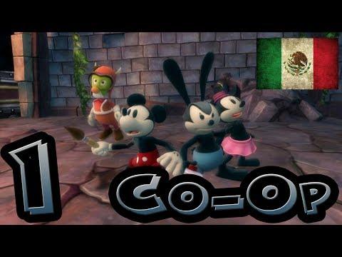 EPIC MICKEY 2 | Parte 1: EL PODER DE DOS | Guía Co-Op en Español LATINO [FULL HD]