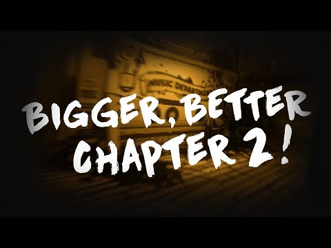 Bendy and the Ink Machine: Chapter 2 HUGE REMASTER COMING SOON!!!