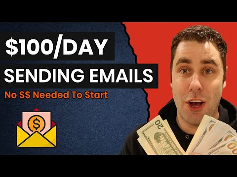 How To Make Money Online For FREE Sending Emails & NO Website (Step by Step)