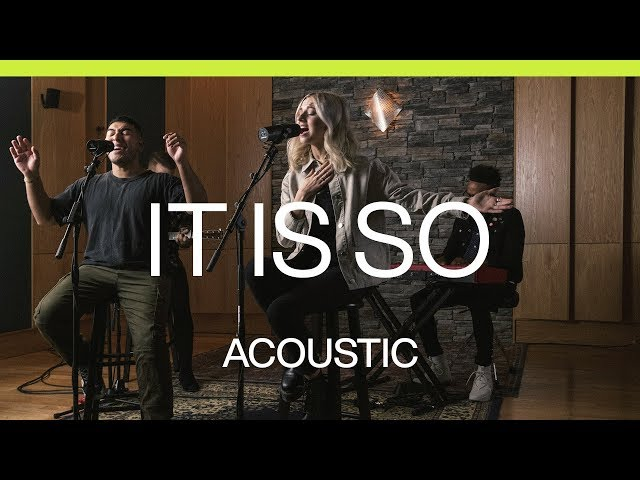 It Is So | Acoustic | At Midnight | Elevation Worship