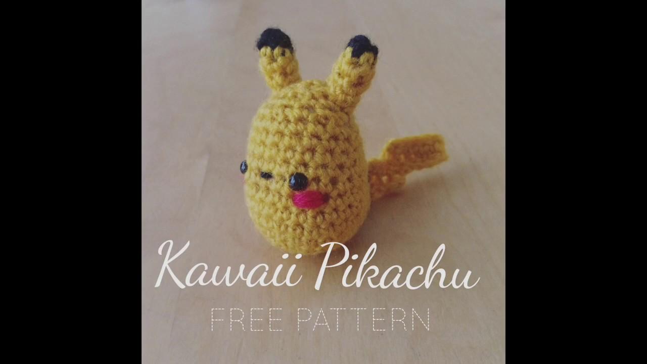 Free Pikachu Crochet Pattern - Sir Purl Grey | Amigurumi patterns ... | 720x1280