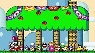 "[TAS] SNES Super Mario World ""game end glitch"" by Doomsday31415, BrunoVisnadi & Mas[...] in 00:41.68"